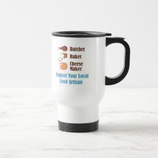 Artesano de la comida taza de viaje