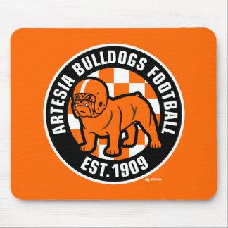 Artesia Bulldogs Football Est. 1909 Mousepad