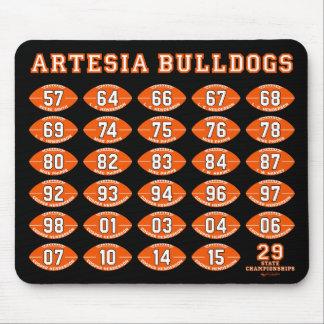 Artesia Bulldogs Football State Champs Mousepad
