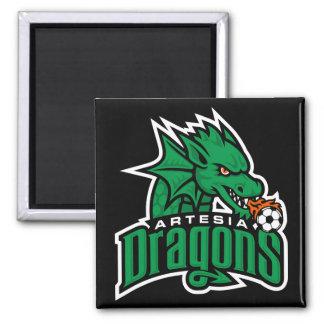 Artesia Dragons Logo Magnet