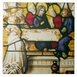 Artesone la representación de St Andrew en la cena Azulejos Cerámicos