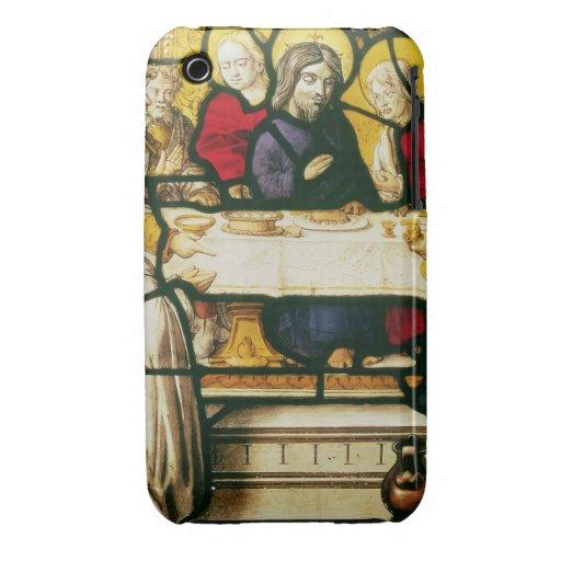 Artesone la representación de St Andrew en la cena Case-Mate iPhone 3 Carcasa