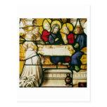 Artesone la representación de St Andrew en la cena Tarjetas Postales