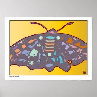 Artful Butterfly 4-Print