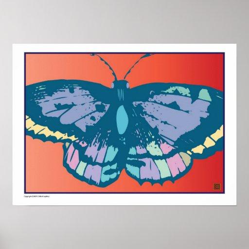 Artful Butterfly 7-Print