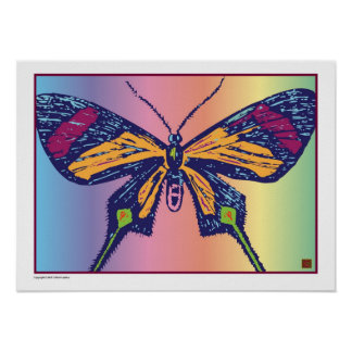 Artful Butterfly 9-Print