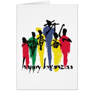 Artful Celebration Kwanzaa Holiday Greeting Cards