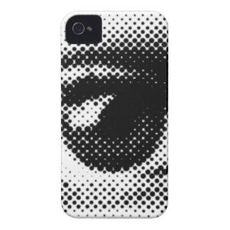 ARTFUL EYE round dot eyes vector iPhone 4 Cover