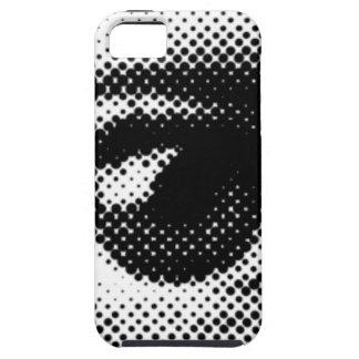 ARTFUL EYE round dot eyes vector iPhone SE/5/5s Case