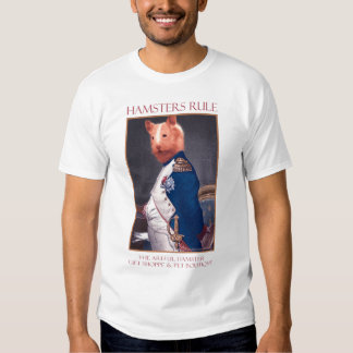Artful Hamster Napolean T-Shirt