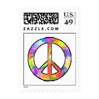 Artful Peace Postage