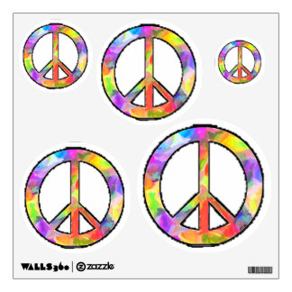 Artful Peace Signs Wall Decals