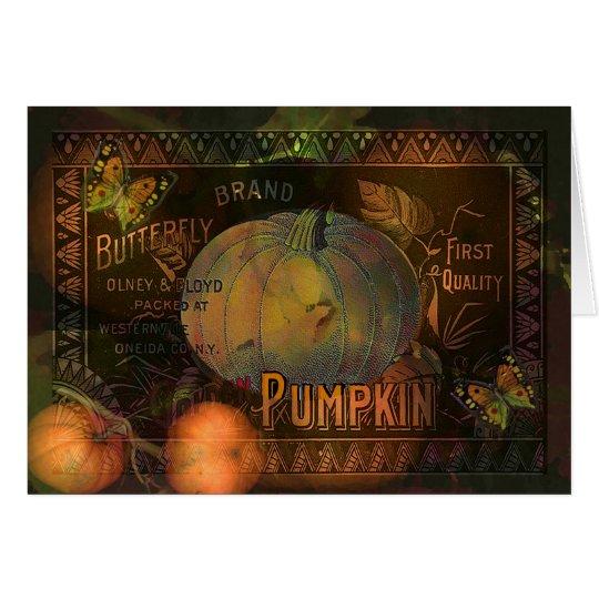 Artful Pumpkins Thanksgiving Card