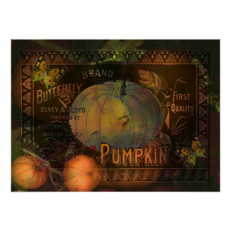 Artful Pumpkins Thanksgiving Print