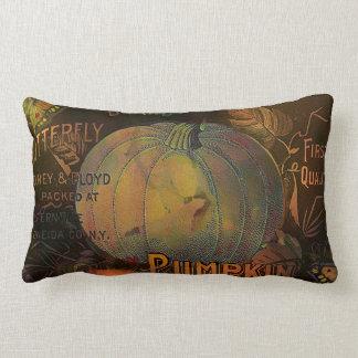 Artful Pumpkins Thanksgiving Throw Pillow