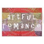 Artful Romance - Deserves a Chance Greeting Card
