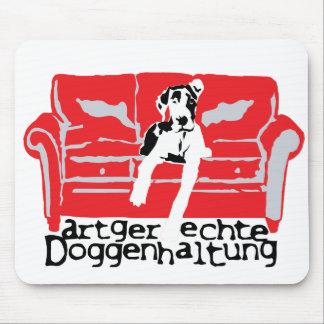 Artgerechte Doggenhaltung Mouse Pad