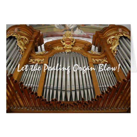Arth Goldau organ Christmas Card