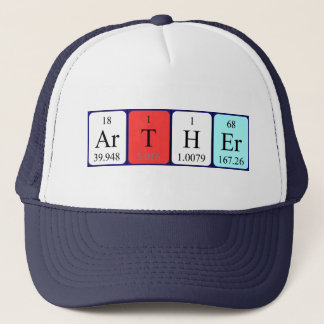 Arther periodic table name hat