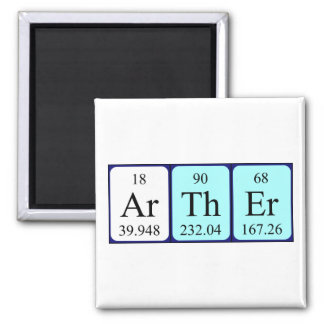Arther periodic table name magnet