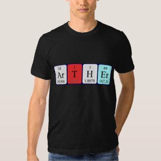Arther periodic table name shirt