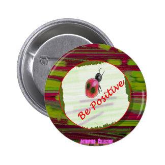 Arthopoda Collection Lady bug Buttons