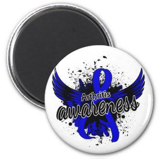 Arthritis Awareness 16 2 Inch Round Magnet