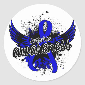 Arthritis Awareness 16 Classic Round Sticker