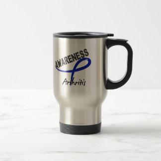 Arthritis Awareness 3 15 Oz Stainless Steel Travel Mug