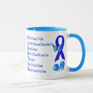 Arthritis Awareness Butterfly Fighter Mug