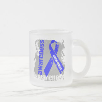 Arthritis Awareness Grunge Ribbon Mug