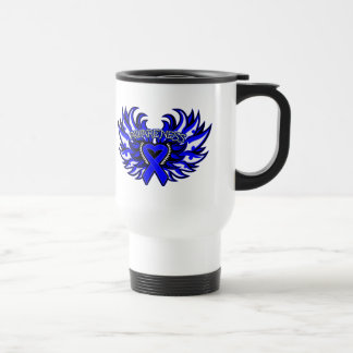Arthritis Awareness Heart Wings Coffee Mug
