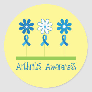 Arthritis Awareness Month Flowered Stickers