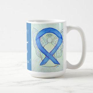 Arthritis Awareness Ribbon Angel Custom Mug