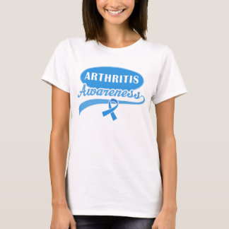 Arthritis Awareness Ribbon Of Support Womens Tee