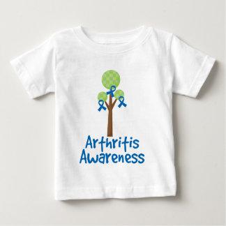 Arthritis Blue Ribbon Awareness Baby T-Shirt