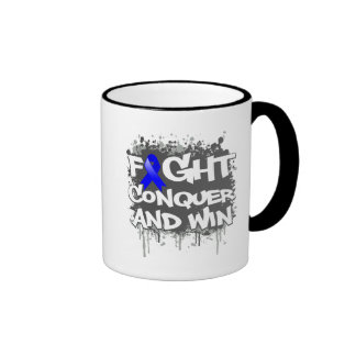Arthritis Fight Conquer and Win Coffee Mugs