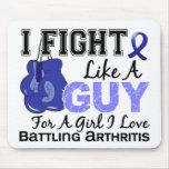 Arthritis Fight Like A Guy 15 Mouse Pad