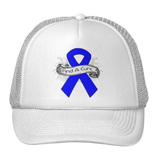Arthritis Find A Cure Ribbon Mesh Hats