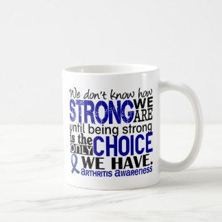Arthritis How Strong We Are Classic White Coffee Mug
