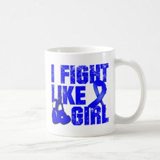 Arthritis I Fight Like a Girl (Grunge) Coffee Mug