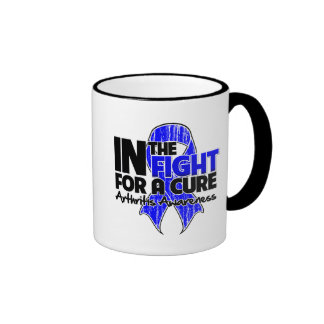 Arthritis In The Fight For a Cure Ringer Coffee Mug
