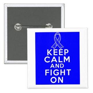 Arthritis Keep Calm and Fight On Pin