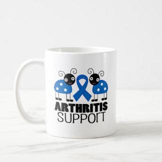 Arthritis Ladybug Support Ribbon Awareness Mug