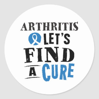 Arthritis Lets Find A Cure Stickers