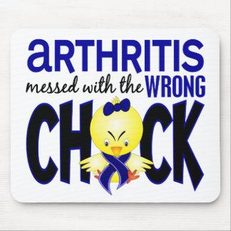 Arthritis Messed With The Wrong Chick Mouse Pad