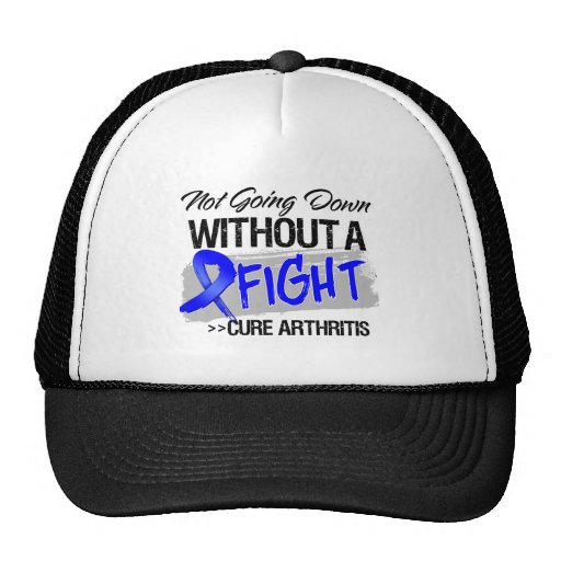 Arthritis Not Going Down Without a Fight Mesh Hats