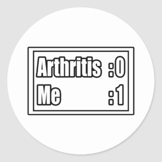 Arthritis Scoreboard Stickers