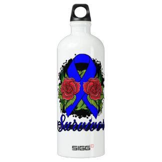 Arthritis Survivor Rose Grunge Tattoo SIGG Traveler 1.0L Water Bottle