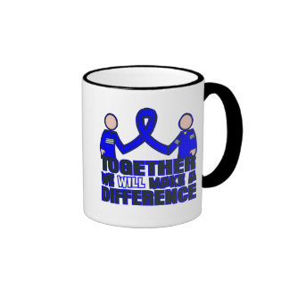 Arthritis Together We Will Make A Difference Ringer Coffee Mug